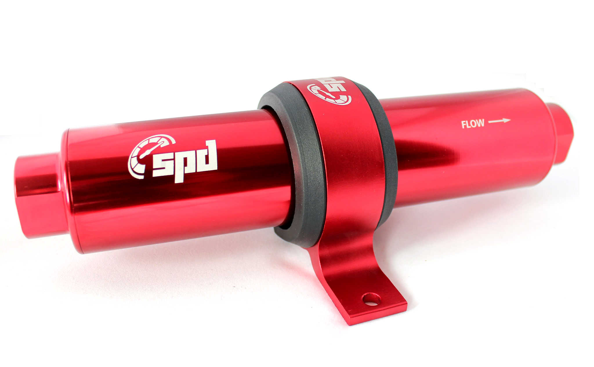 SPD Fuel filterV2 10 micron E85 red