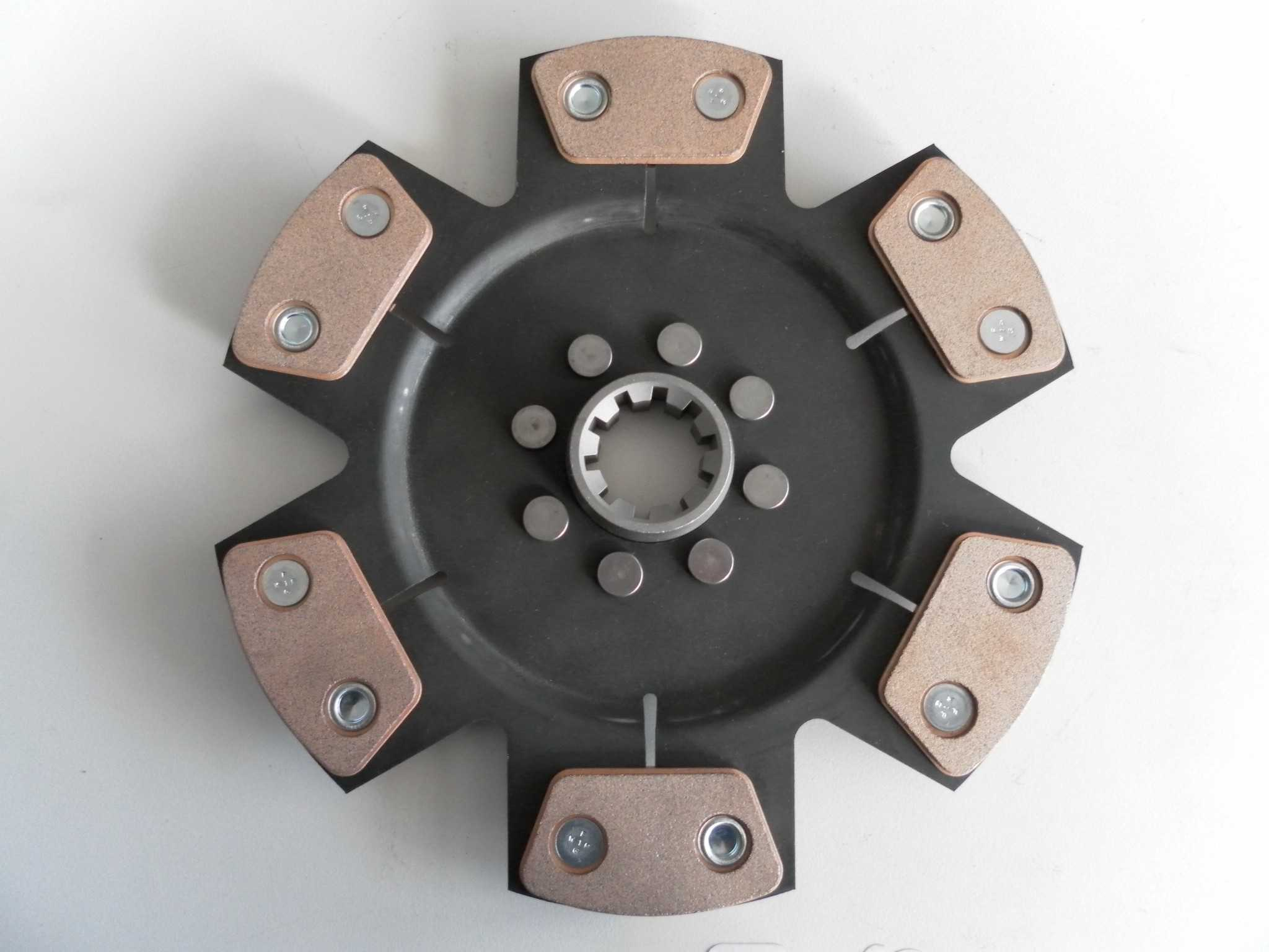 Tenaci Sinter Clutch disc 6 puck Offset centre