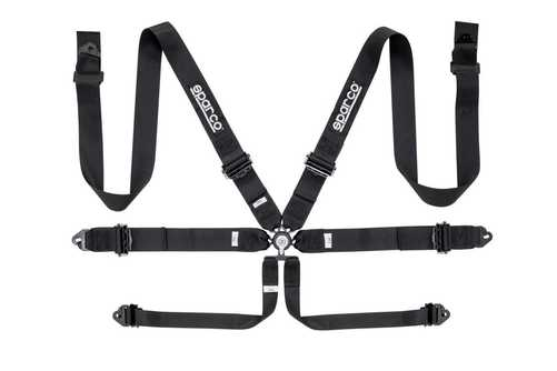 Sparco 6pt Safety harness black