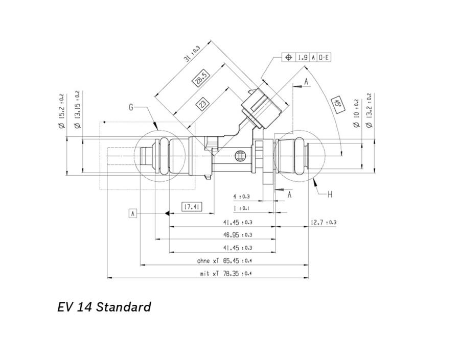 Bosch Injector 980cc Ev14