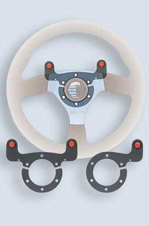 2x steering wheel Push button