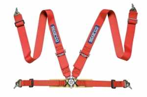 Sparco 4pt Safety harness red